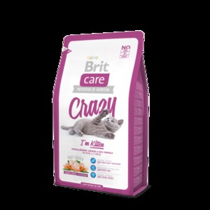 Корм для котят BRIT CARE Cat Crazy I´m Kitten.